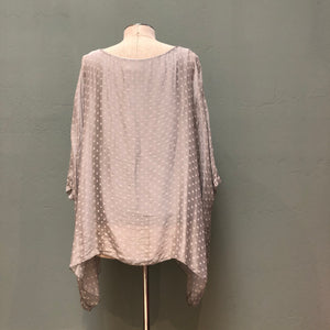 M Made In Italy Draped Top