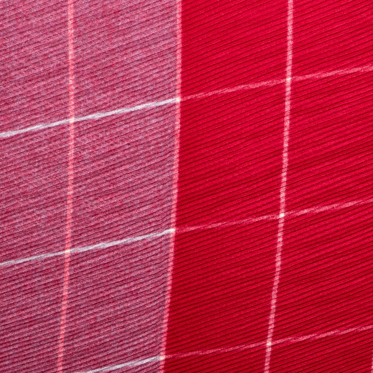 Pretty Persuasions Modern Plaid Scarf in Red