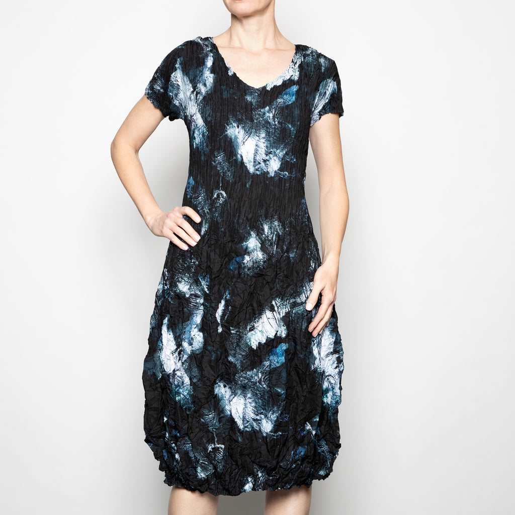 Alquema Smash Dress in Mediterranean Dark