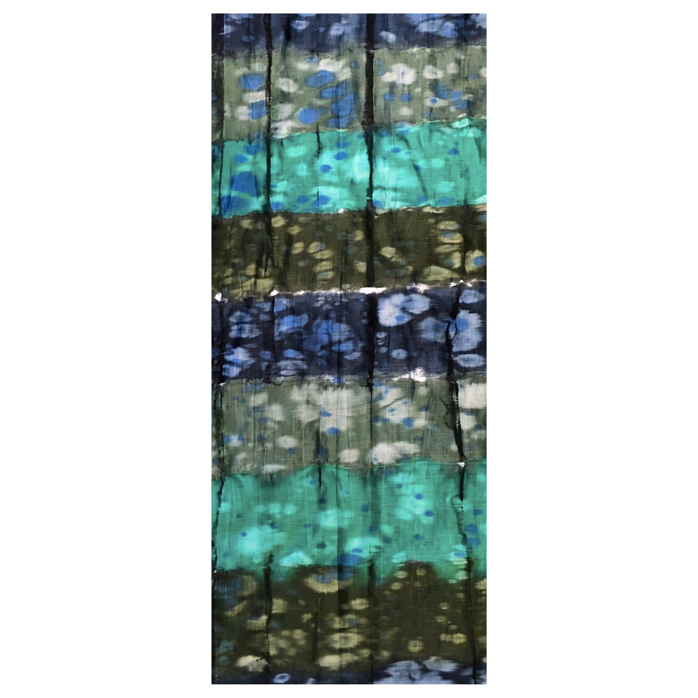 Lua Teal Gradient Scarf