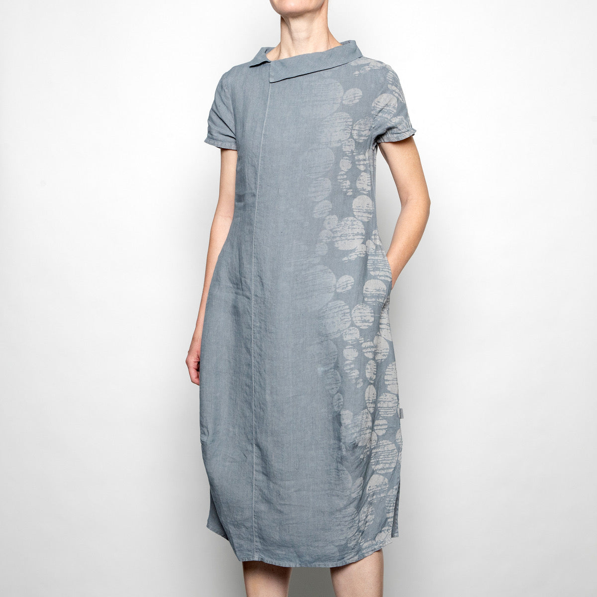 Elemente Clemente Nesna Dress in Stone