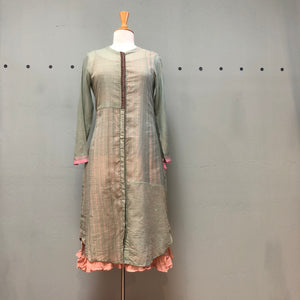 Astha and Sidharth Green Cotton Pallazo Dress