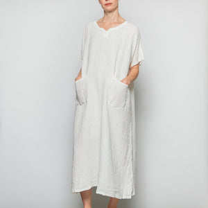 Peacock Ways Short Sleeve Dress