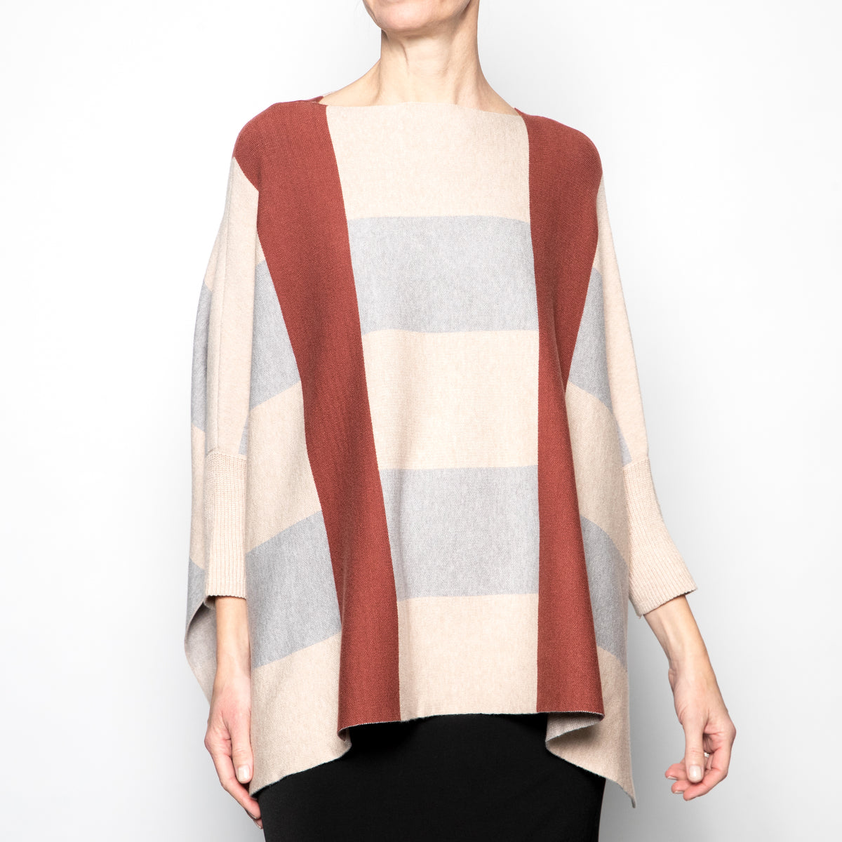 Vintage Concept Wide Stripe Sweater