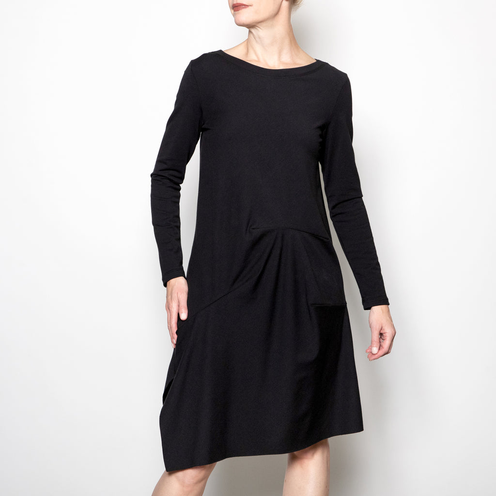 Veronique Miljkovitch Willow Dress in Black