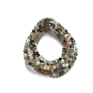 Nakamol Multi Beaded Stretch Bracelet