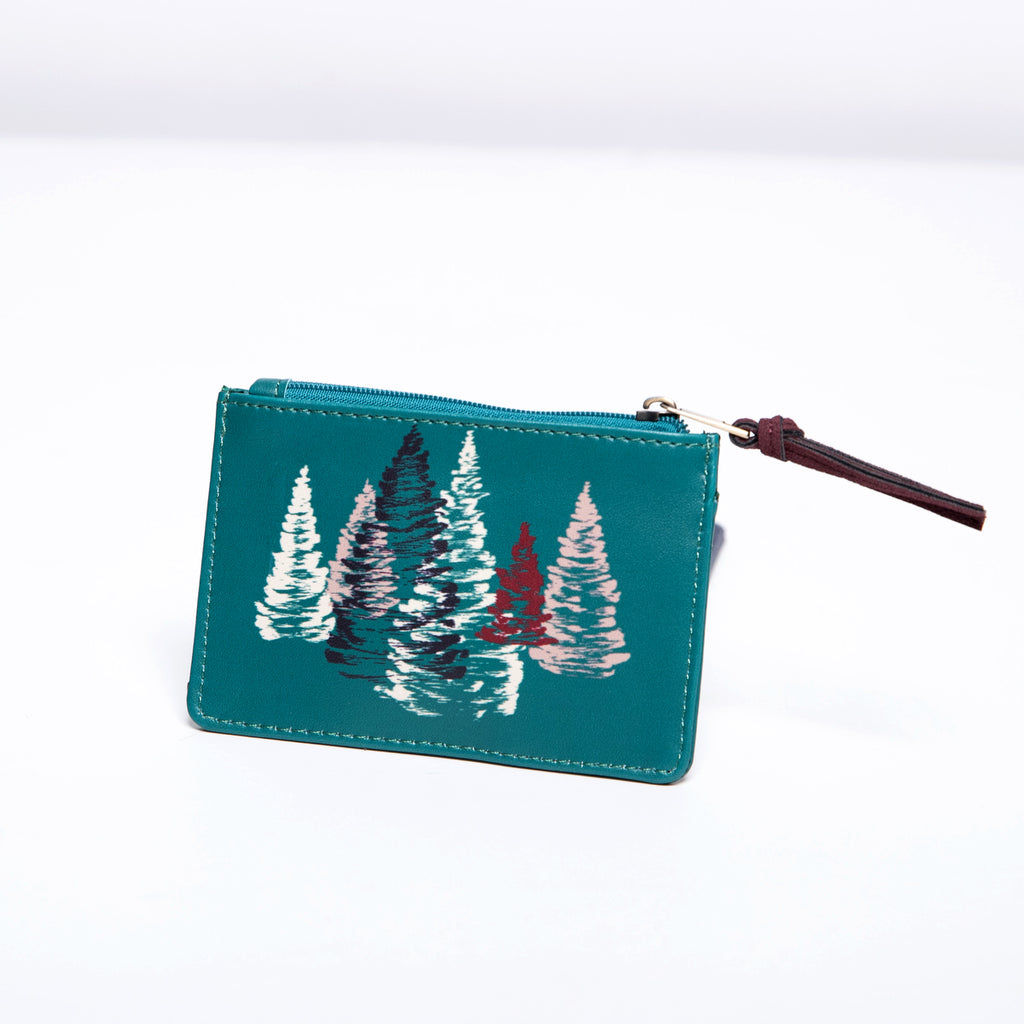 Nice Things Card Clutch-Evergreens