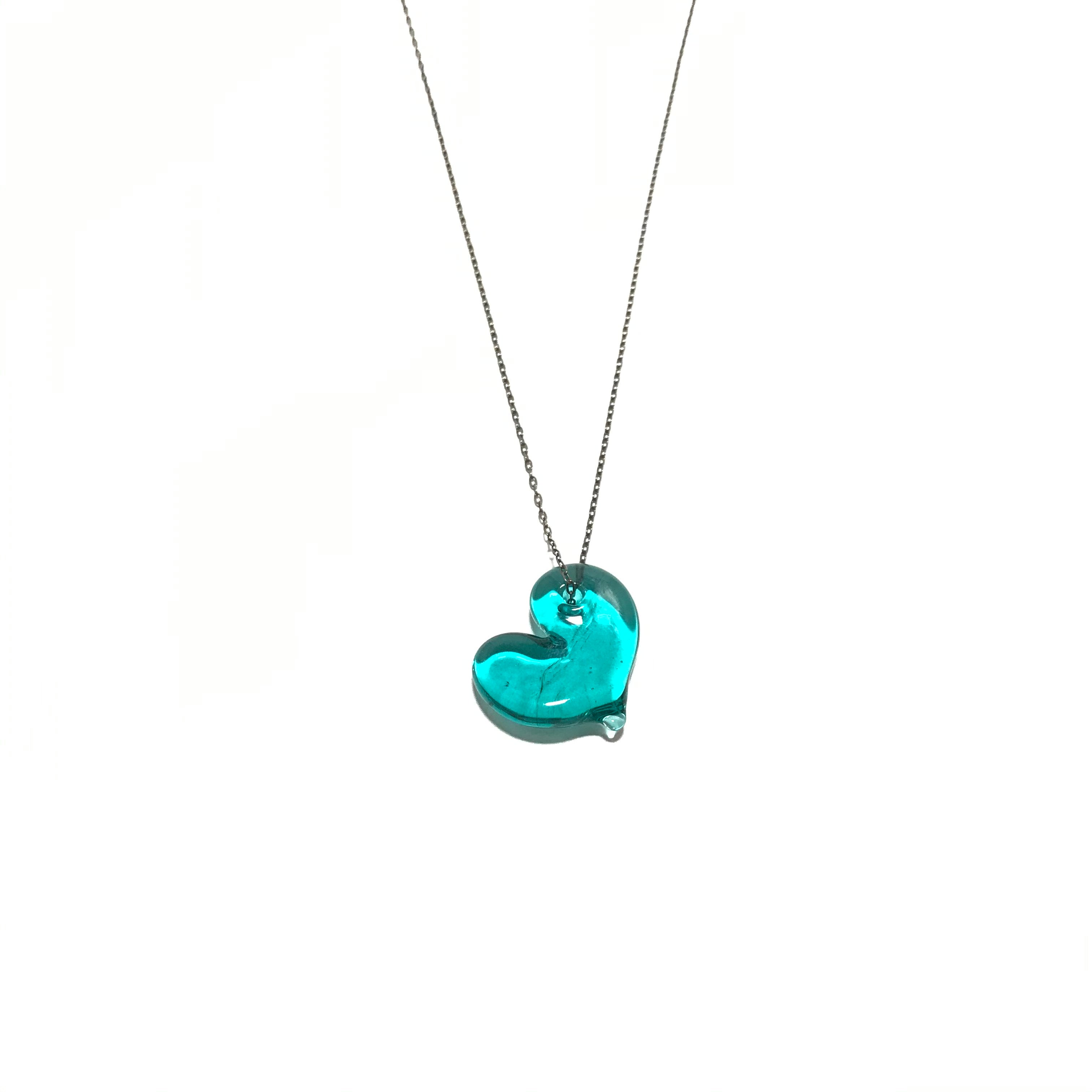 Krista Bermeo Hole in My Heart Necklace