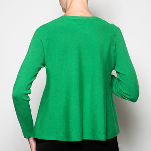 Compania Fantastica A-line Caridigan in Green