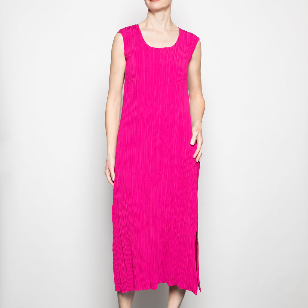 Alquema Lara Dress in Mars Pink