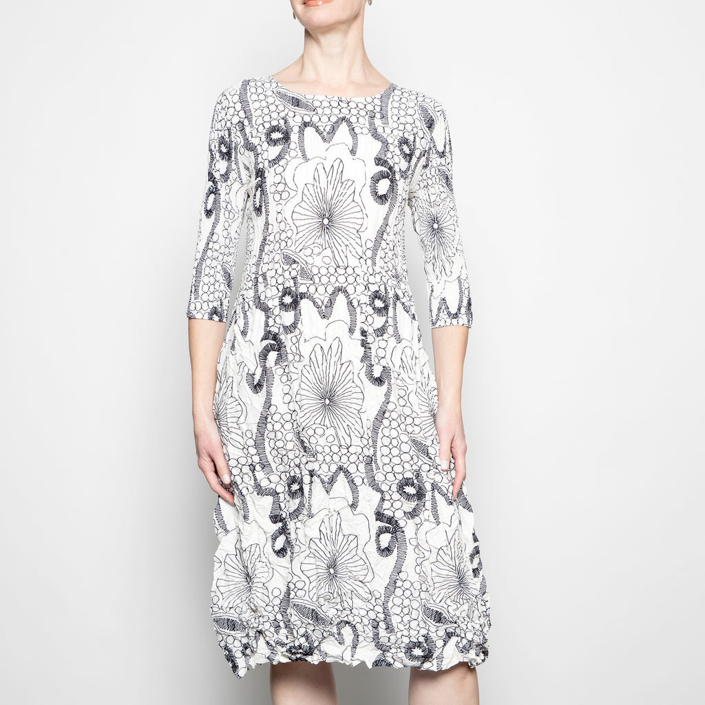 Alquema Smash Pocket Dress in Lampo