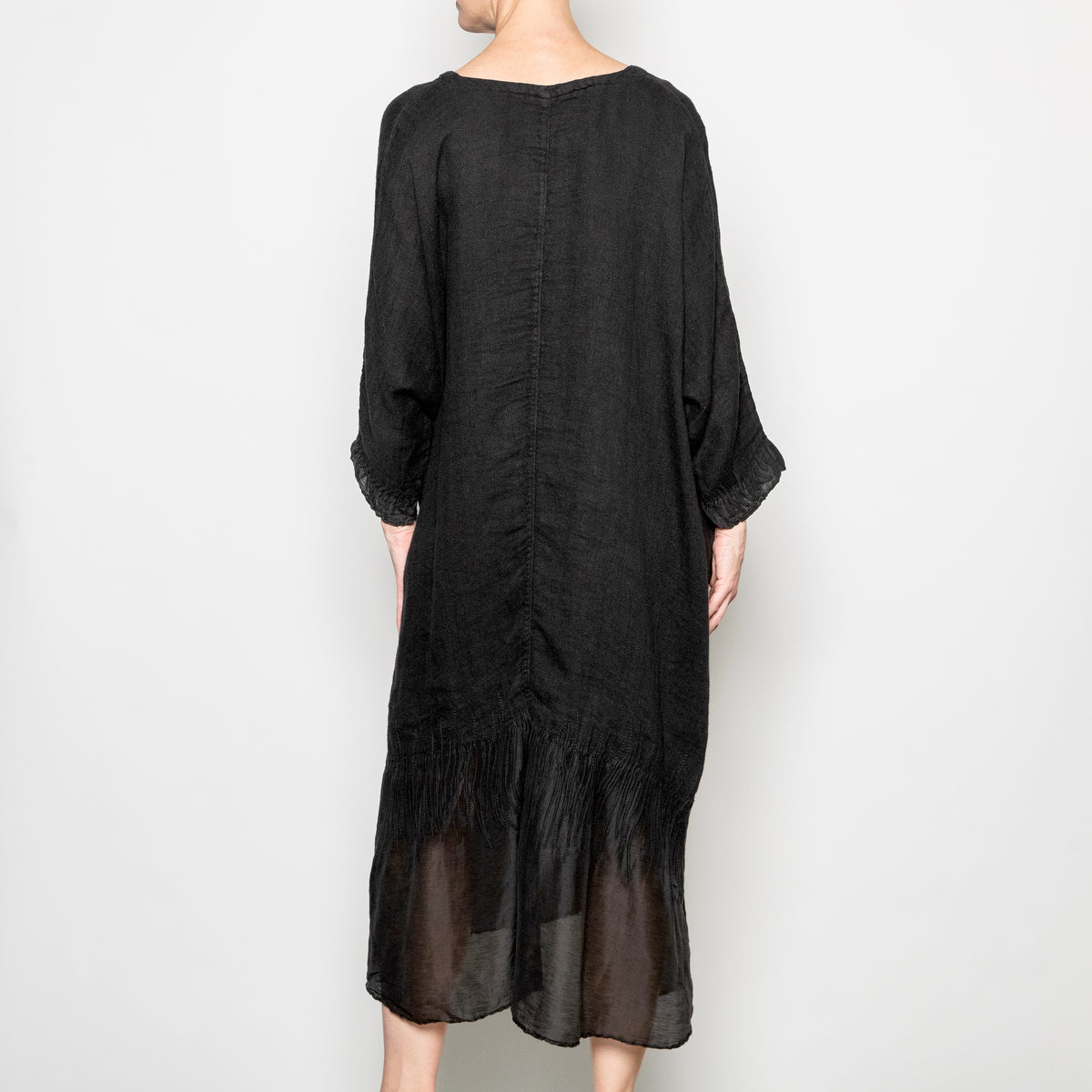 Peacock Ways Annabelle Dress in Black