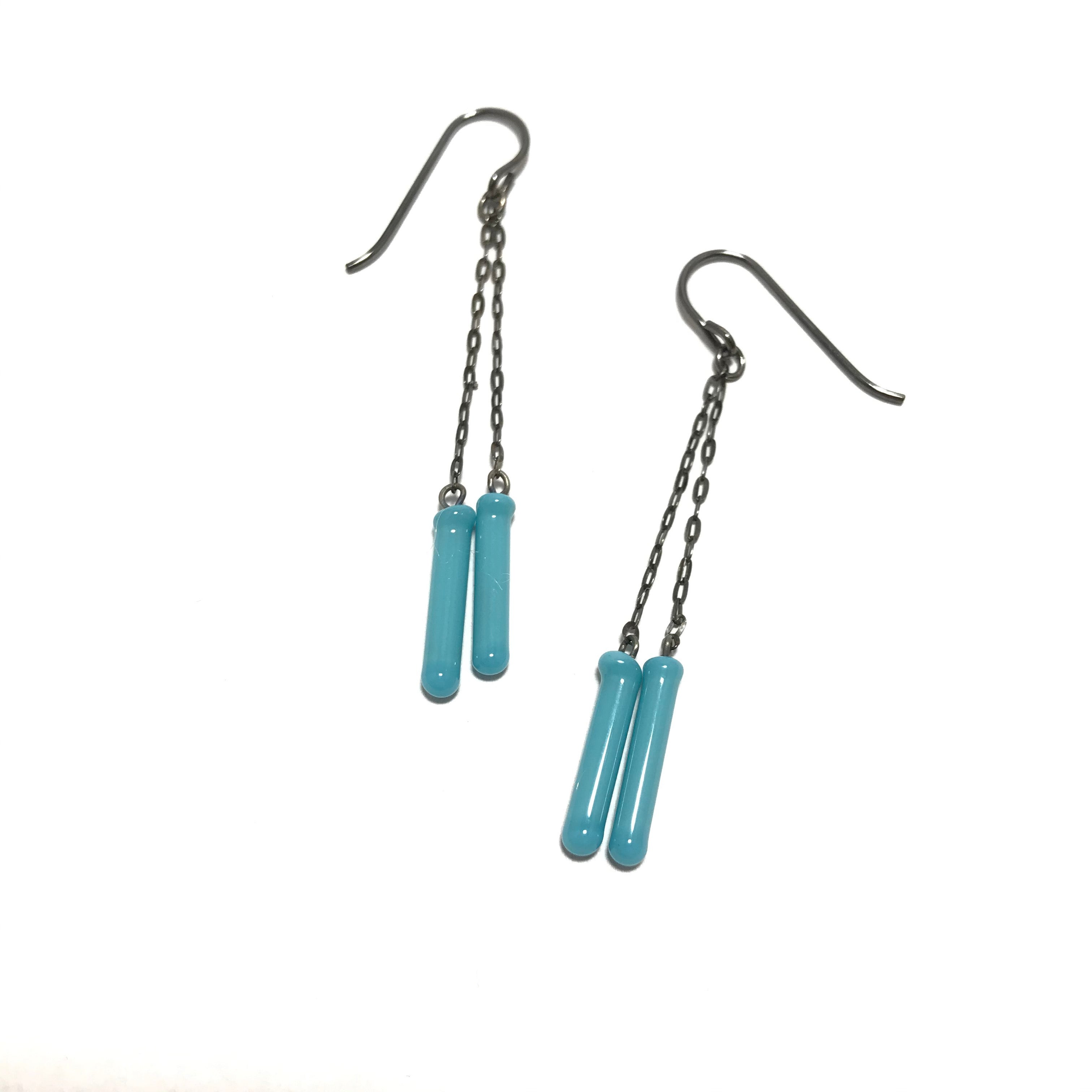 Krista Bermeo Double Fosforo Earrings