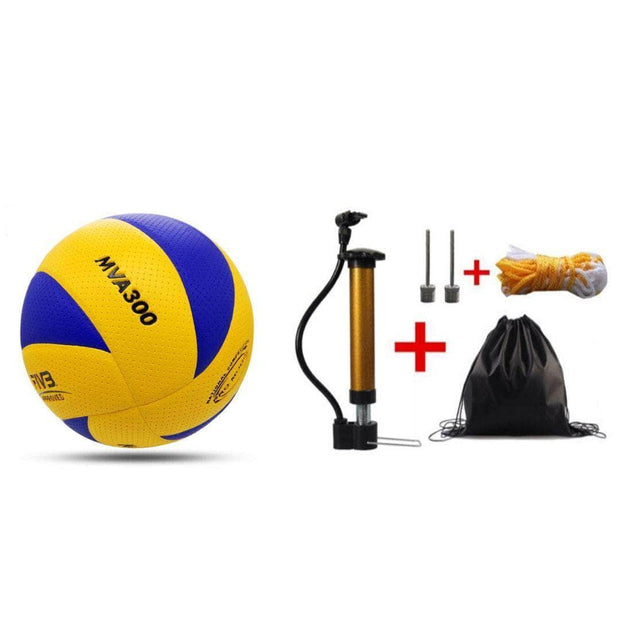 VolleyBall + Flex Ball Pump