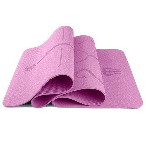 Body Posture Yoga Mat