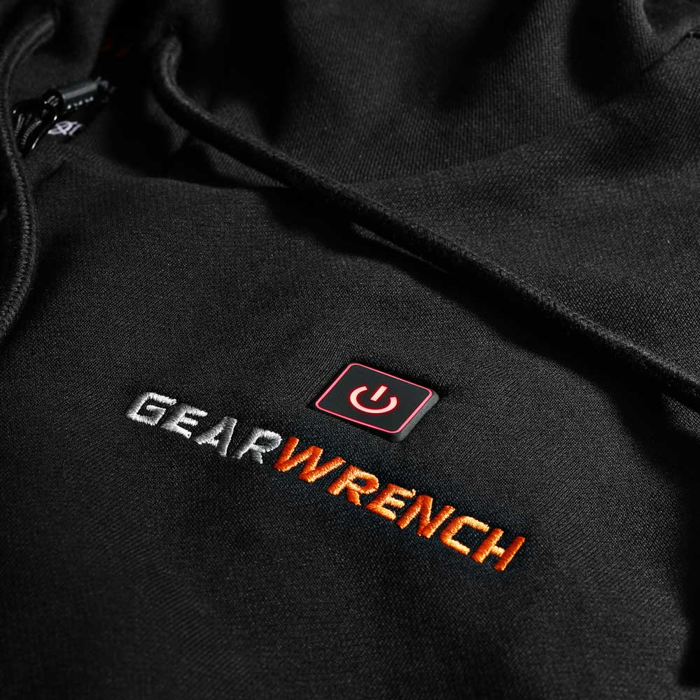 GearWrench Men's Heated Full Zip Hoodie