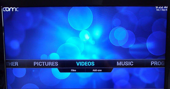 What can you do with XBMC on the Raspberry Pi
