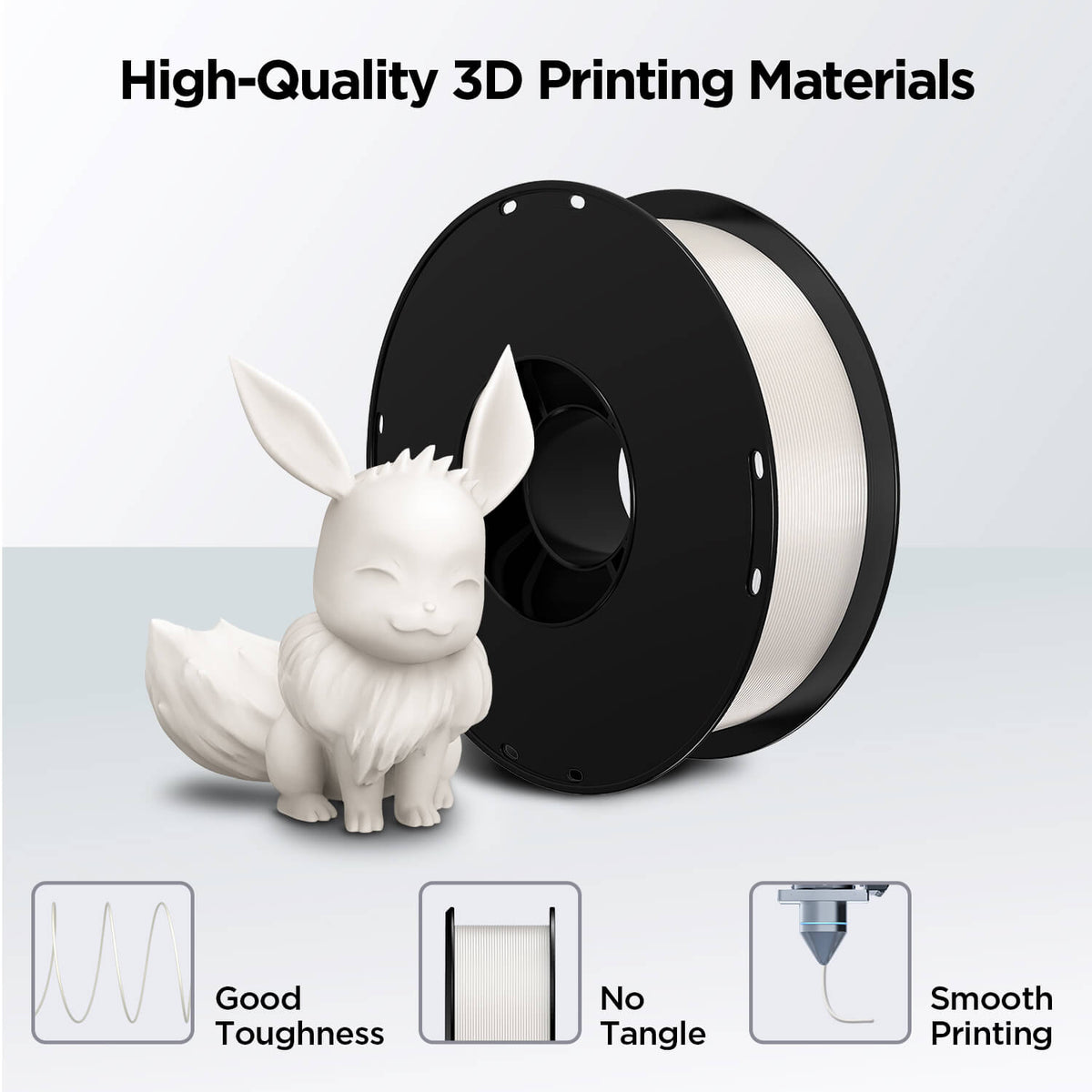 3D Printer PLA Filament 1.75mm 1KG (7 colors)