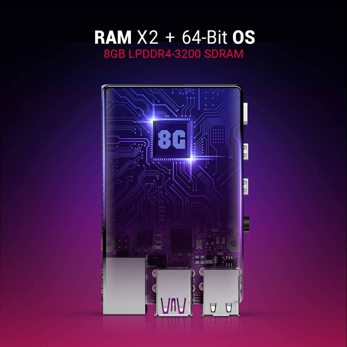 Raspberry Pi RAMX2 8GB