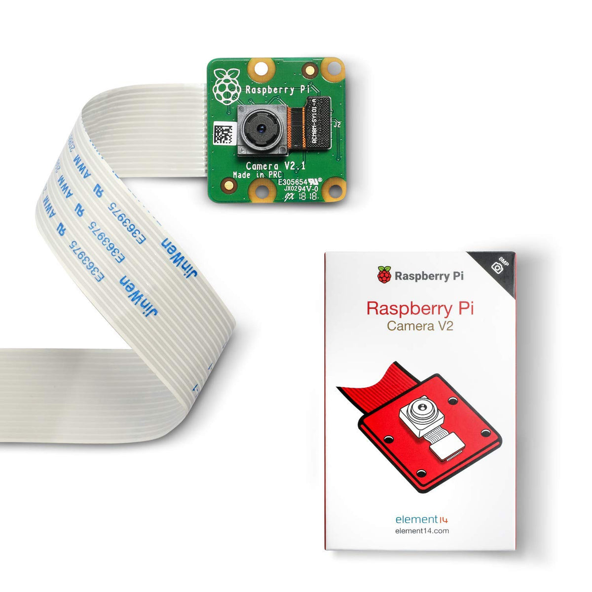 Raspberry Pi Camera V2 8MP 1080P Webcam Official Module for Raspberry Pi 4 3 B+ Zero