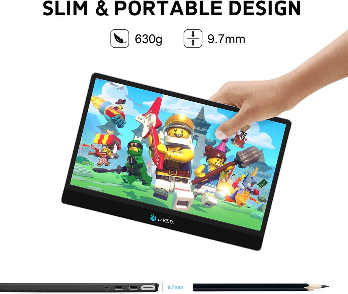 SLIM&PORTABLE DESIGN