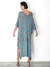 Load image into Gallery viewer, Kaftan Bamboo Midi Dress