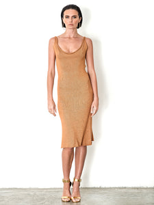 Bamboo Tank Dress Midi - SALE