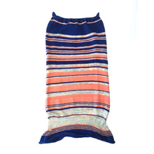 Load image into Gallery viewer, Tube Skirt Peachy Stripes 1-of-1