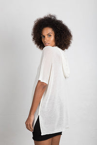 Hooded Kaftan Top