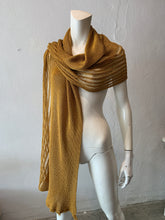 Load image into Gallery viewer, Golden Butterfly Scarf
