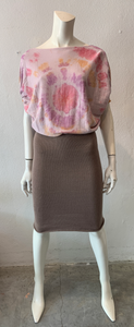Tie Dyed Bishop Dress