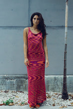 Load image into Gallery viewer, Variegated Bamboo Maxi Dress