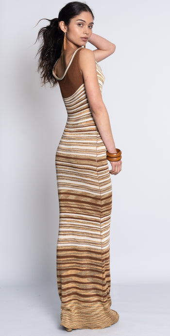 Tank Maxi Dress - Multi Striped