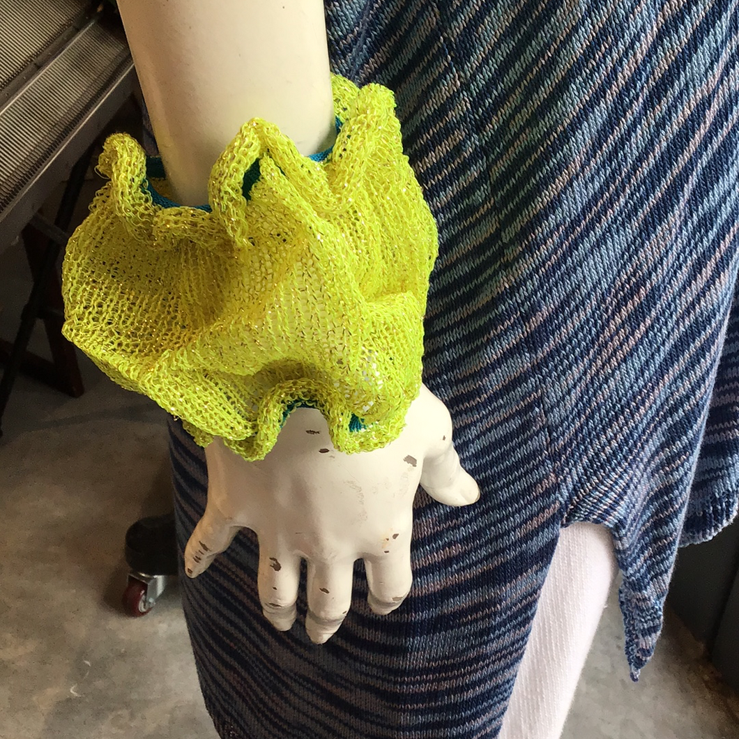 Neon yellow cuffs