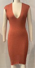 Load image into Gallery viewer, V Rib Medium Dress