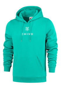 Dames Symbol Hoodie Turquoise