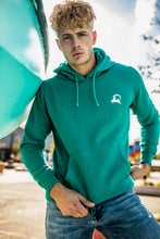 Load image into Gallery viewer, Men's Logo Hoodie Turquoise (pre-order)