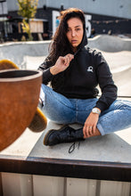 Load image into Gallery viewer, Women's Logo Hoodie Black (pre-order)