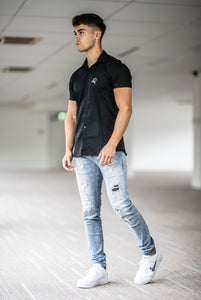 Men's Shortsleeve Shirt Black