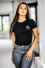 Load image into Gallery viewer, Women's Logo T-shirt Black