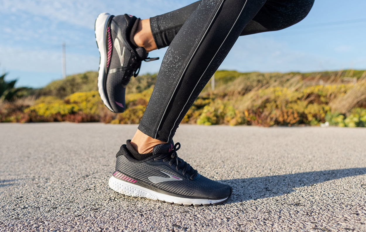 Wide Fit Running Shoes - Ladies