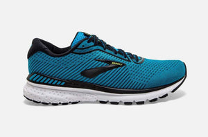 brooks adrenaline gts 20 mens running shoe in Blue and Black