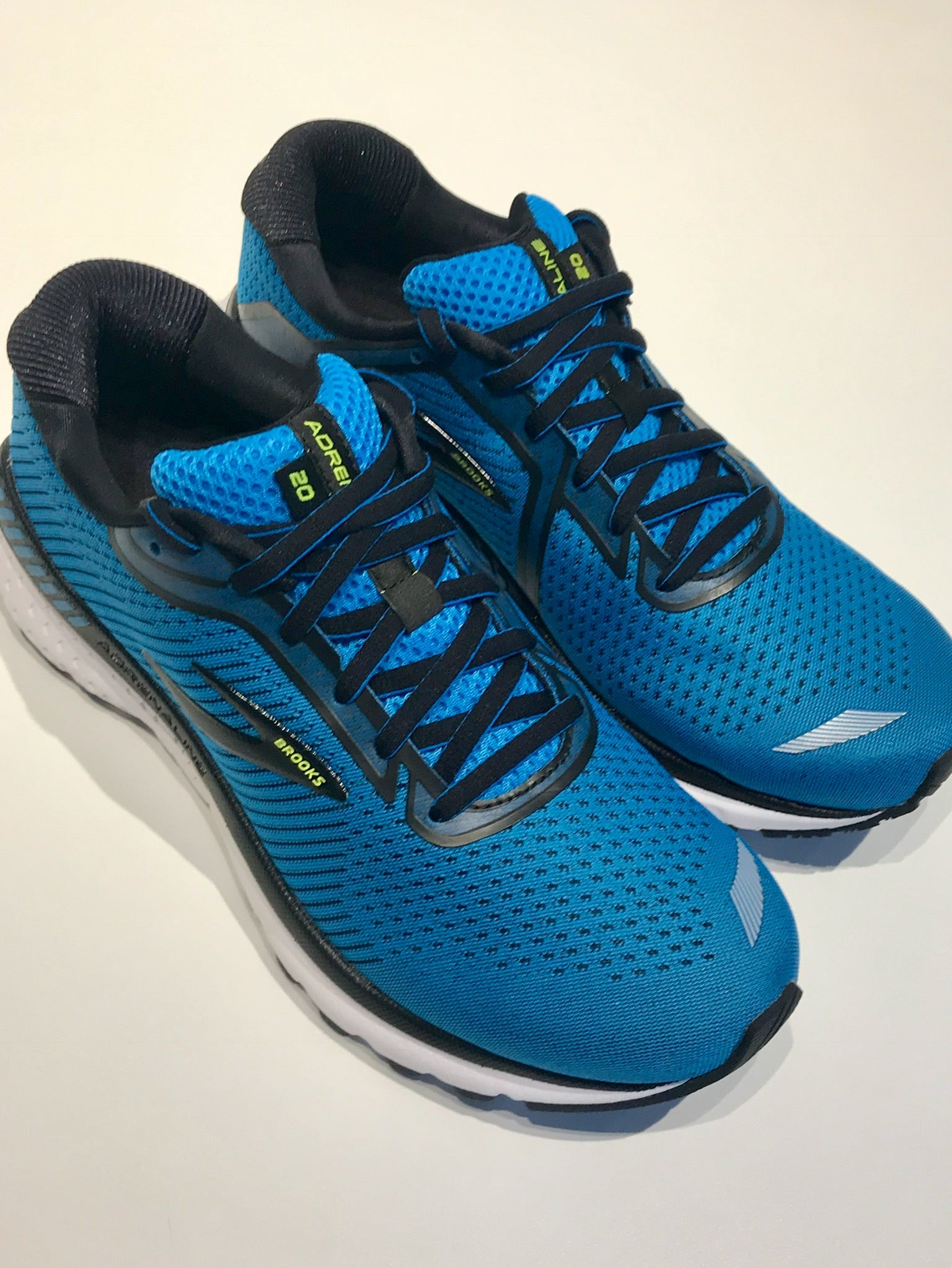Mens Brooks Adrenaline GTS 20 Running Shoes Blue/Black