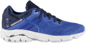 Ladies Mizuno Wave Inspire 16 Running Shoes. Blue/Navy