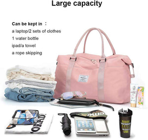 ONLY $9.90 !!!Last 12 hours!)Travel Foldable Duffel Bag