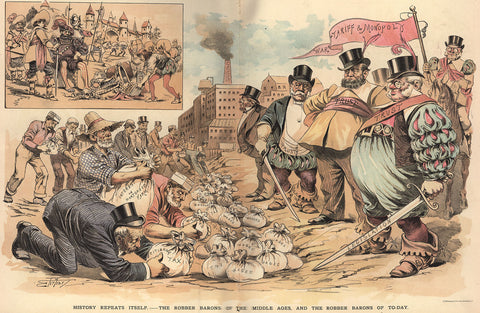 2-28 History Repeats Itself: The Robber Barons of the Middle Ages and the Robber Barons of Today