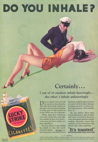 "3-32 Advertisement: ""Do You Inhale?"""