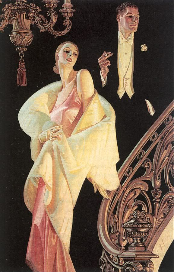 J. C. Leyendecker Arrow Collar advertisement (1925): beautifully framed reproduction