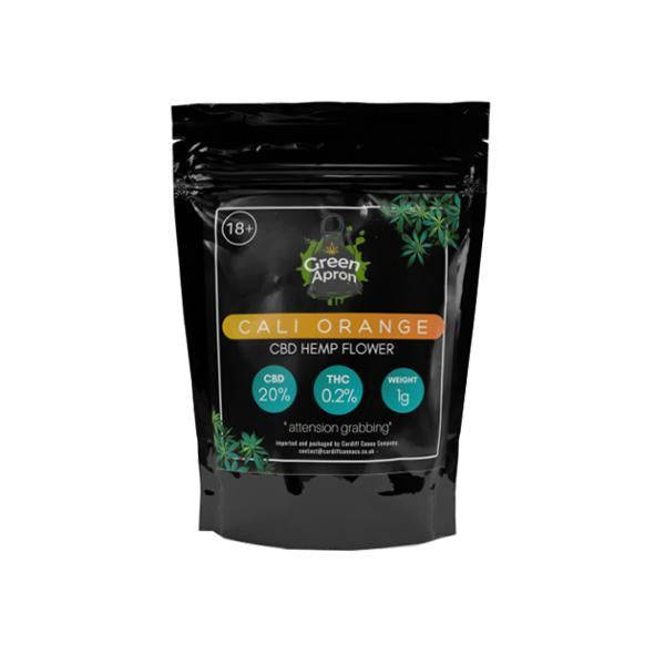 Green Apron CBD Flower Tea - 1g Cali Orange (20% CBD, THC<0.2%)