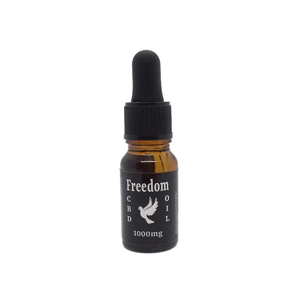 CBD Freedom 1000mg CBD Oil Drops 10ml THC<0.2%